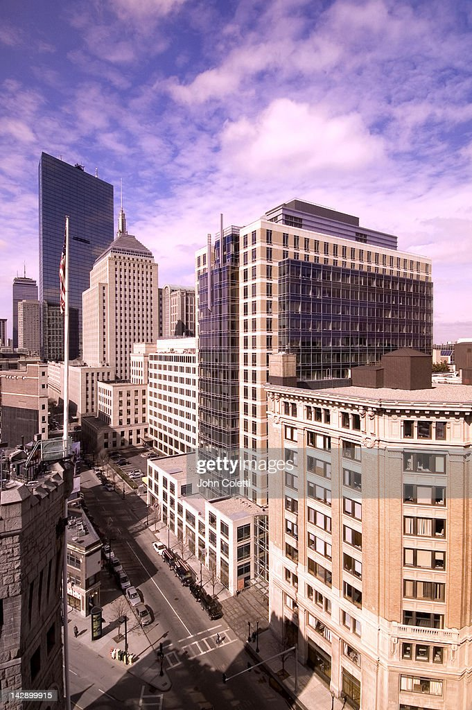 Boston cityview : Stock Photo