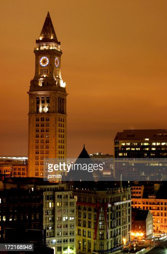 Boston Clock Tower - Custom House