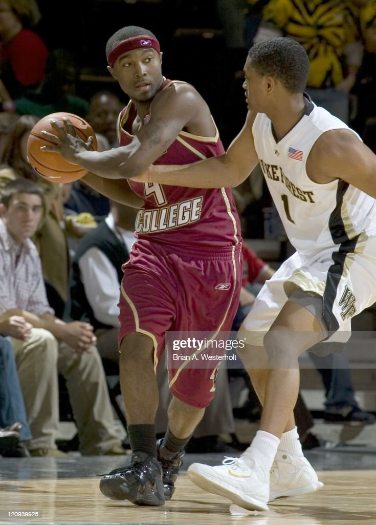 NCAA Men's Basketball - Boston College vs Wake Forest - February 8, 2006
