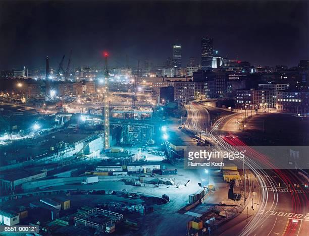 Boston Construction Site