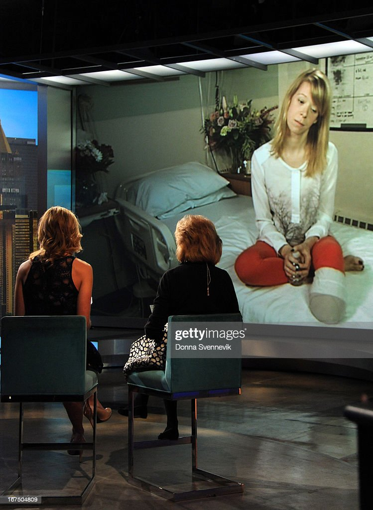 THE VIEW - (4.25.13) Boston Marathon bombing victim, Adrianne Haslet-Davis bravely shared her story today on 'The View.' 'The View' airs Monday-Friday (11:00 am-12:00 pm, ET) on the ABC Television Network. DAVIS