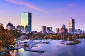 Boston, Massachusetts, USA skyline.