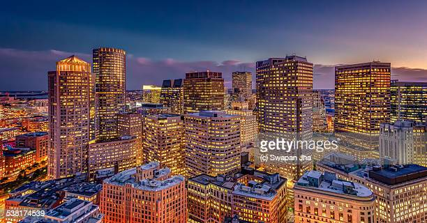Boston Night Skyline