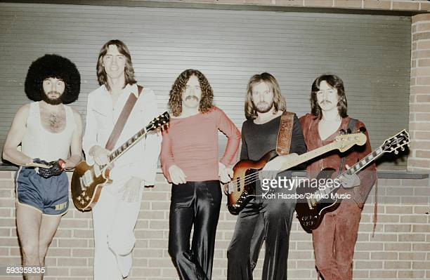 Boston photo session at Nippon Budokan lobby Tokyo April 16 1979