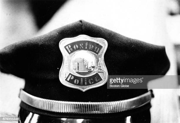Boston Police Department hat is pictured on Oct 10 1979