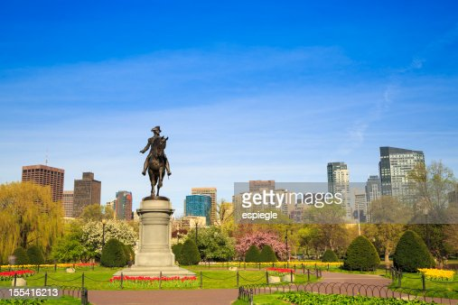 Boston Public Garden, Massachusetts