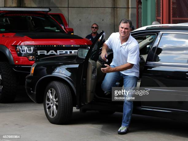 Boston Red Sox manager John Farrell arrives at Fenway Park on the team's day off The Red Sox made a number of trades before the July 31 2014 trading...