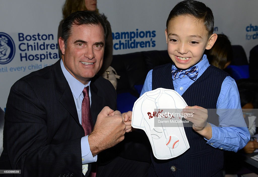 Boston Red Sox manager John Farrell attends Champions for Children's with Drystan at Seaport World Trade Center on December 3, 2013 in Boston, Massachusetts.