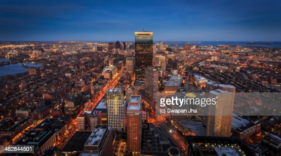 Boston Skyline from the Prudential Observaatory