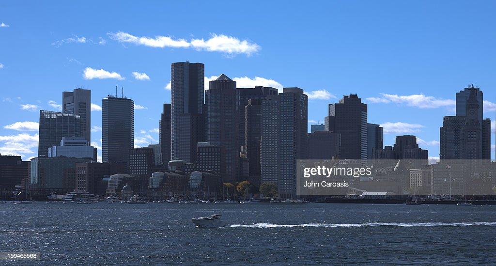 Boston skyline : Stock Photo