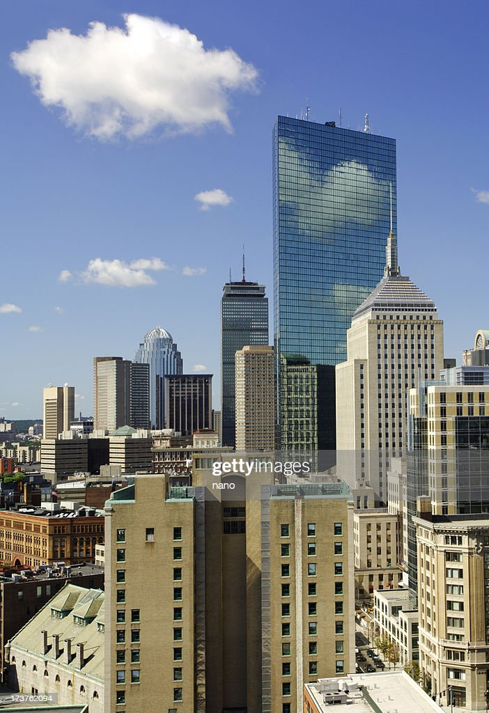 Boston skyline (vertical)