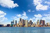 Skyline of Boston downtown, Massachusetts, USA