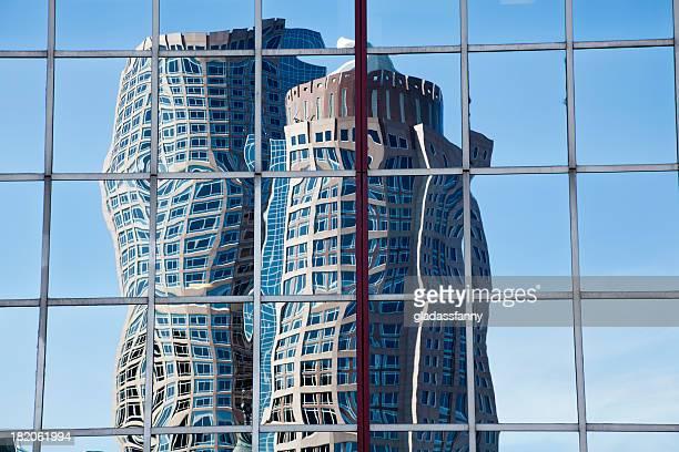 Boston Skyscraper Reflection