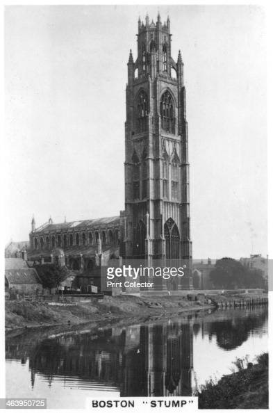 Boston Stump Lincolnshire 1937 The Stump in Boston is the nickname of the parish church of Saint Botolph Its landmark tower is approximately 272 feet...