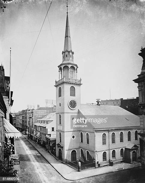 the Old South Meeting House Washington at Milk Street Boston