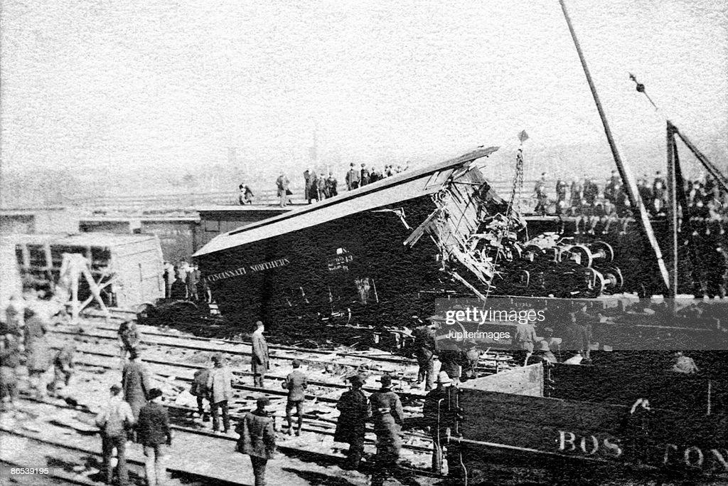 Boston train wreck