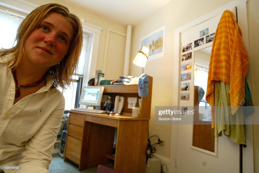 Boston University Student Katie Ou0027Hara In Her Dorm Room. Katie, Like Most Part 40