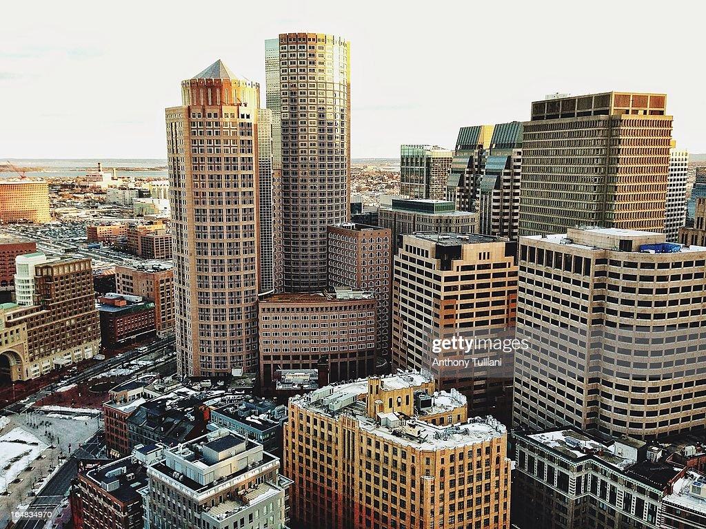 Boston view : Stock Photo