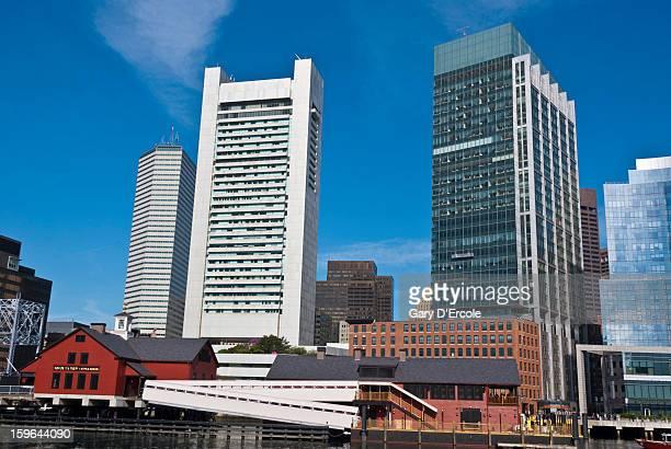 Boston waterfront architecture