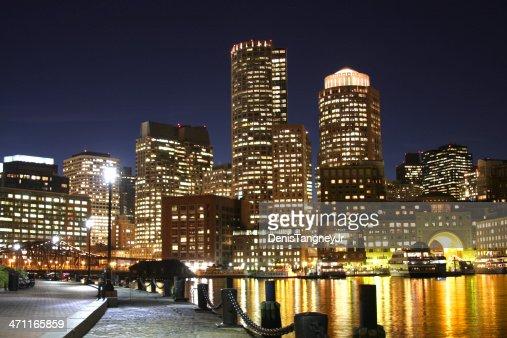 Au bord de l'eau à Boston