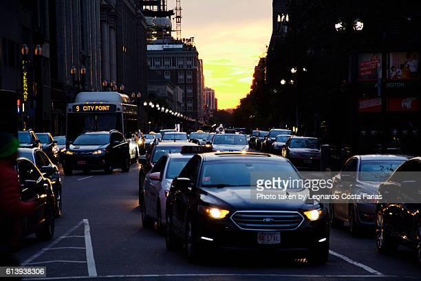 Bostonian sunset