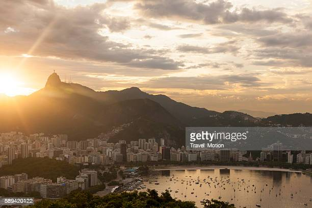 Botafogo bay at sunset, Rio de Janeiro