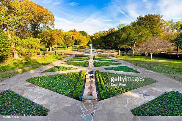 Botanical Garden on an Autumn Day