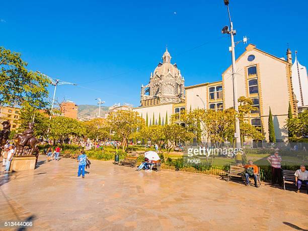 Botero Plaza en Medellín, Colombia