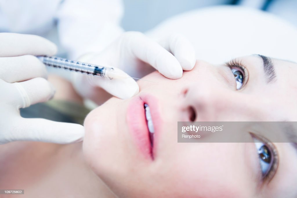 Botox Treatment : Stock Photo