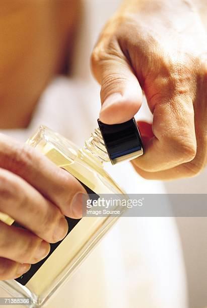 Bottle of aftershave