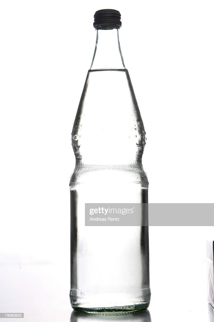 A bottle of drinking water is seen on January 14, 2007 in Berlin, Germany.