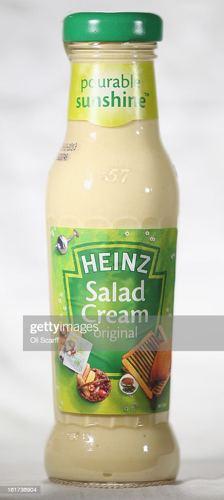 A bottle of H.J. Heinz Co. Salad Cream on February 15, 2013 in London, England. Billionaire investor Warren Buffett's Berkshire Hathaway is is teaming up with the Brazilian investment group 3G Capital to buy H.J. Heinz Co. for 23.3 billion USD.