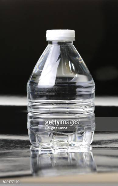 Bottle of Water in a disposable bottle