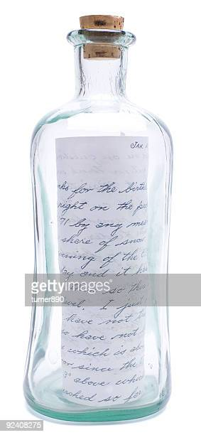 Bottle with message