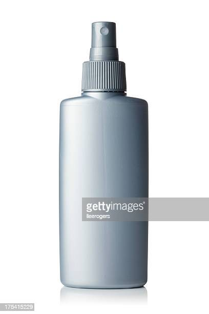 Bottle with spray nozzle