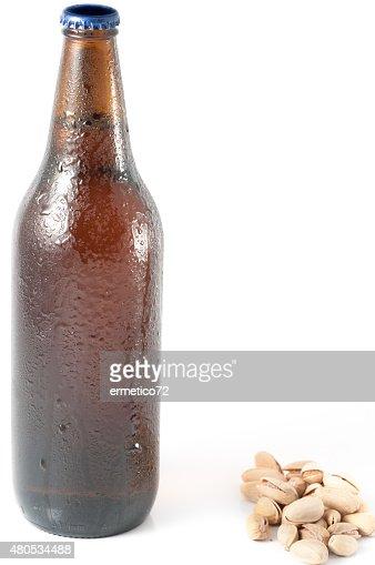 bottled beer crafts : Stock Photo