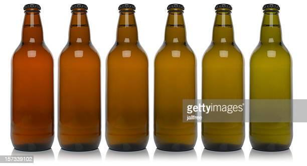 Flaschen-Braun, grün