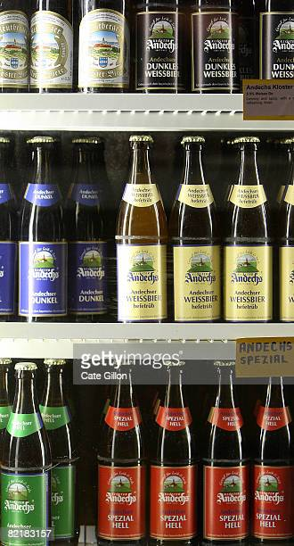 Bottles of beer in the fridge at the Great British Beer Festival on August 5 2008 in London England The annual Great British Beer Festival runs from...