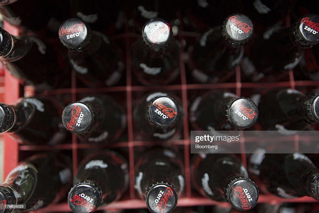 Bottles of Coca-Cola Zero sit in a delivery truck in Mexico City, Mexico, on Thursday, Sept. 5, 2013. Coca-Cola Femsa SAB, a bottler and distributor of Coca-Cola products in Mexico, agreed to buy Brazils Spaipa SA Industria Brasileira de Bebidas in a cash deal with a total transaction value of $1.86 billion. Photographer: Susana Gonzalez/Bloomberg via Getty Images