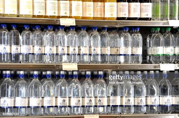Bottles of drink on display in a Pret A Manger store in Melcombe Street in central London Filipino fast food group Jollibee Foods Corp is reportedly...