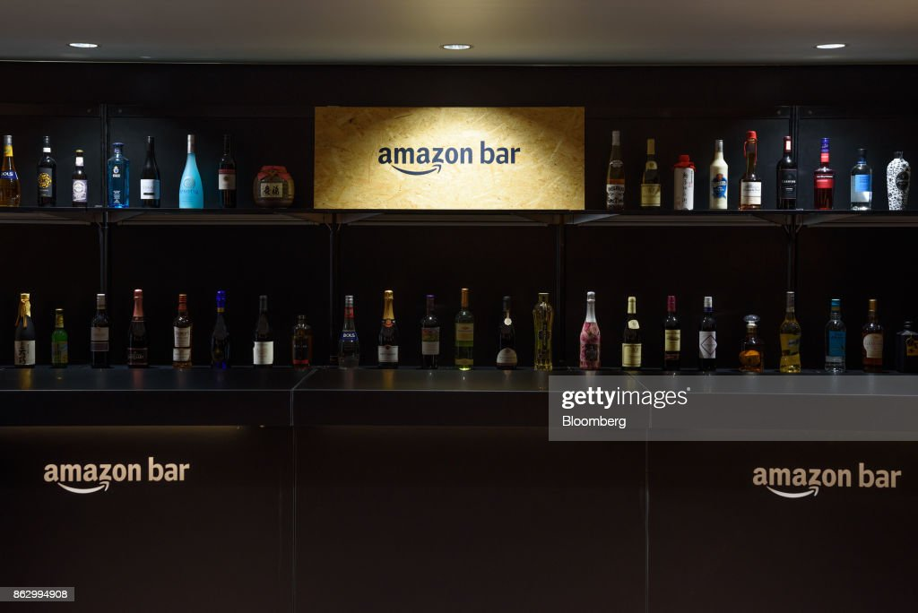 Media Preview of Amazon.com Inc.'s Pop-up Liquor Bar In Ginza