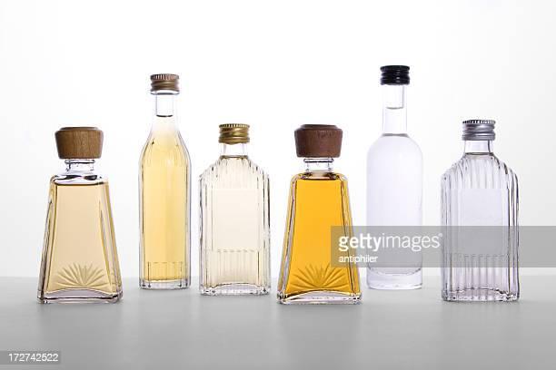 Frascos de licor