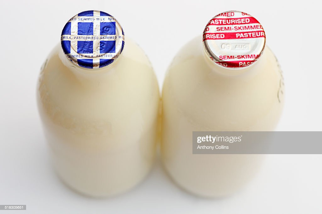 Bottles of milk UK