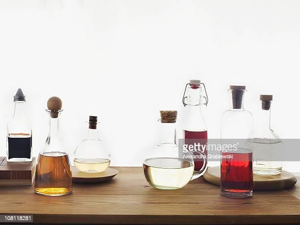 Bottles of Vinegars