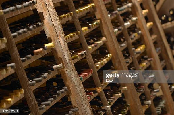 bottles  wine cellar