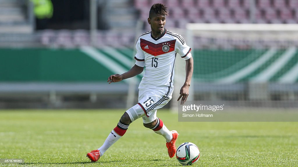 <a gi-track='captionPersonalityLinkClicked' href=/galleries/search?phrase=Boubacar+Barry&family=editorial&specificpeople=550738 ng-click='$event.stopPropagation()'>Boubacar Barry</a> of Germany runs with the ball during to the UEFA European Under-19 Championship Elite Round match between U19 Germany and U19 Ireland at Hardtwaldstadion on March 28, 2015 in Sandhausen, Germany.