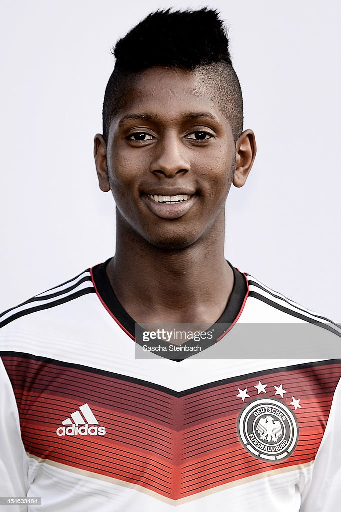<a gi-track='captionPersonalityLinkClicked' href=/galleries/search?phrase=Boubacar+Barry&family=editorial&specificpeople=550738 ng-click='$event.stopPropagation()'>Boubacar Barry</a> poses during the U19 Germany team presentation at Sportpark Hoehenberg on September 4, 2014 in Cologne, Germany.