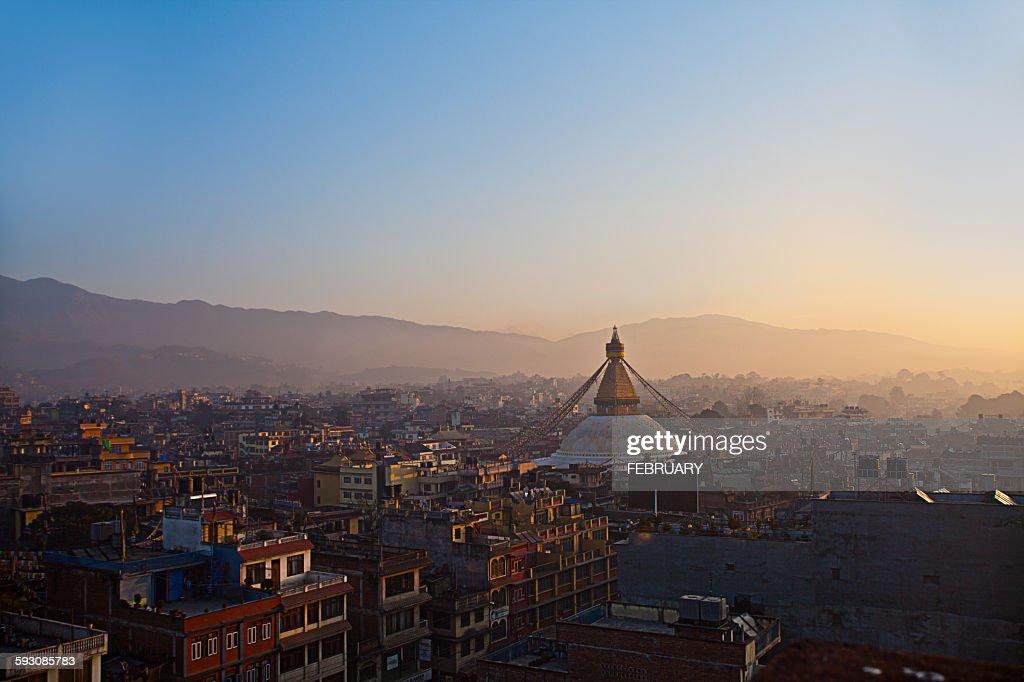 Boudhanath Stupa, Kathmandu, Nepa