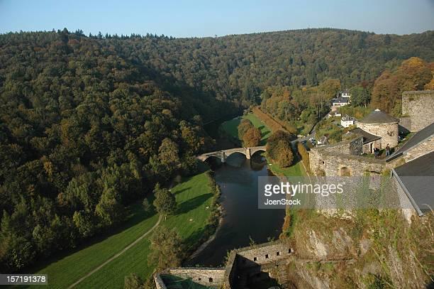 Bouillon Castle belgian Ardennes Belgium