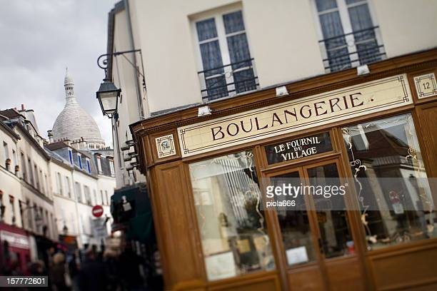 Boulangerie Bakery Shop in Montmartre, Paris